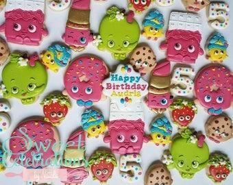 Shopkin cookies