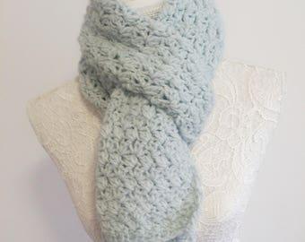 Knit scarf / knit scarf