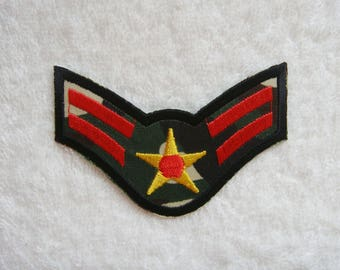 US Air Force Iron On Patch Military Embroidered Applique Jeans Patches For Jackets