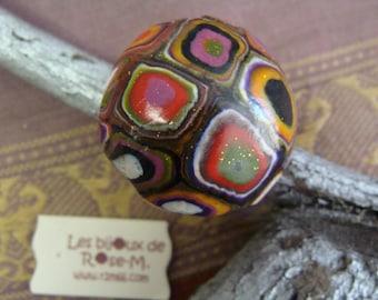 "Ring style ""Klimt"" big patterns"