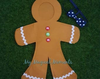 Elf Compatible Costume- Gingerbread man