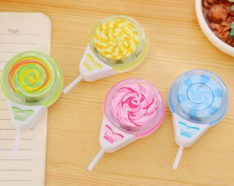 Lollipop pencil sharpener
