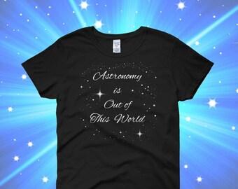 Astronomy t shirt   Etsy