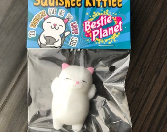 The Squishee Kittie Squishy Cat Stress Reliever Toy