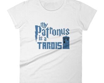 My Patronus is a T.A.R.D.I.S-Women's short sleeve t-shirt