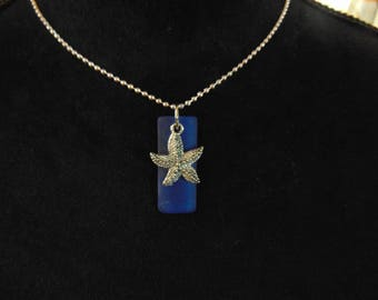 Starfish & Glass Necklace