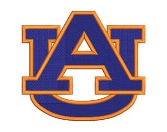 Auburn Embroidery Design - 5 SIZES