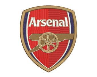 Arsenal Embroidery Design - 5 SIZES