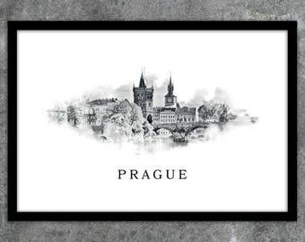70% OFF poster poster contemporary Prague Czech Republic instant download A1 A2 A3 A4 A5 20 x 16-24 x 18-36 x 24 70 x 50 90 x 60 + US sizes