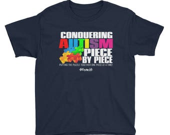 Conquering Autism Youth  T-Shirt