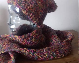 Hat and Shawl Set