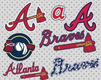 Atlanta braves SVG, Braves svg, Atlanta svg, Atlanta Braves Cricut, Atlanta cricut, Braves cricut, Sport svg, Game svg, Sport cricut