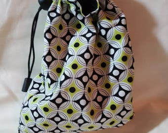 Funky Geometric Pouch Bag