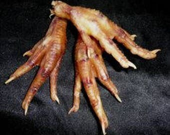 2 Real Chicken Foot w/Free Gift