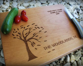 Cutting Board - Bride and Groom - Wedding Gift - Personalized Cutting Board - Anniversary Gift - Christmas Gift - Personalized Engraved Gift