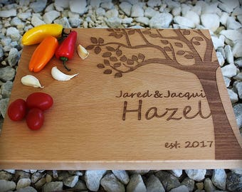 Personalized Cutting Board - Engraved Cutting Board, Custom Cutting Board, Valentines Gift, Wedding Gift, Housewarming Gift,Anniversary Gift