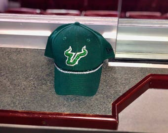 Swarovksi Rhinestone College Hat USF (other colleges available)