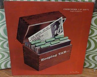TAB SMITH Saxophone Jazz LP Record-Checker Records 2971 Keeping Tab