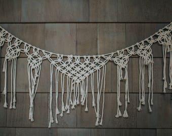 Rope-Anchored Macrame