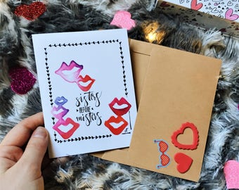 Galentine's Day Card: Set of 5