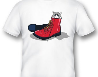 Puss in boots Tee Shirt 08162017
