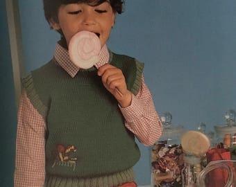 PDF Knit Children Vest IV