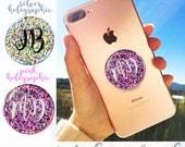 Brokat, różowe złoto, srebro, różowe, czarny TYLKO NAKLEJKI / NAKLEJKI, do uchwytu na selfie, do uchwytu na telefon