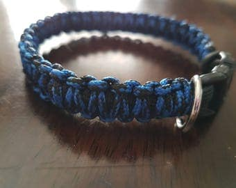 Para-corde for small dog collar