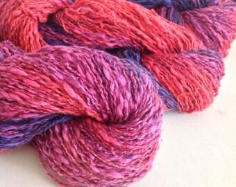 BERRY ~  COTTON/Linen yarn ~ worsted/Aran weight