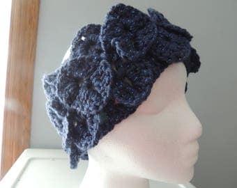 Blue Sparkle Headband/Ear Warmer