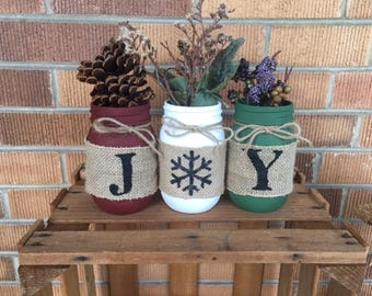 JOY Mason Jar Set