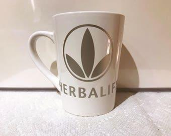 Herbalife Vinyl Mug Silver