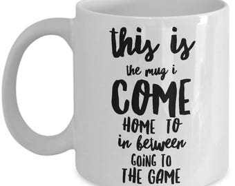 Sports Fan mug, Sports gift, Baseball, Basketball, Soccer, Football, gift, mug, Sports mad, for him,for her