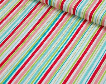 Red Stripe Fabric ,Striped Fabric by the Yard, 100% Cotton Fabric, Striped Quilting Fabric, Striped Fabric, Striped Material,Apparel Fabric