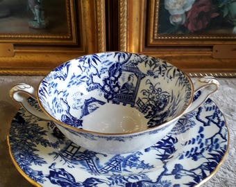 Royal Crown Derby Mikado Cup and Saucer