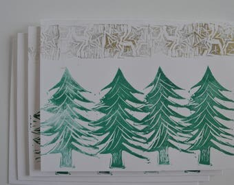 Set of 4 - Evergreen Trees Pack