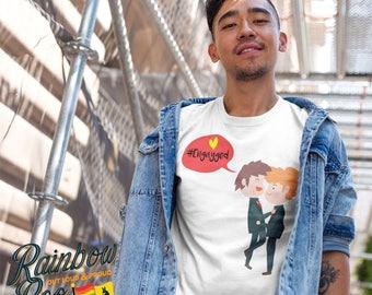 Engayged Pride LGBTIQA Men's T-shirt