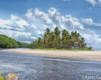 Manzanilla sandbank, Trinidad