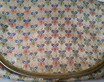 Vintage Majestic Floral Clutch