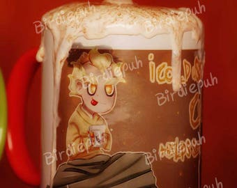 """Overwatch Junkrat Cup """"I could use a cuppa"""""""