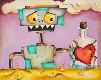 Robotic Heart (Prints)