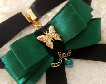 Niebla Bow Necklace / Bow tie