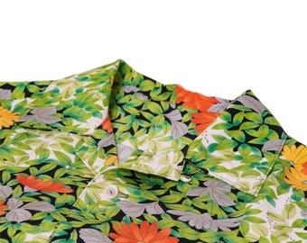 "Japanese ""KIMONO"" Aloha Shirt/jpam411"