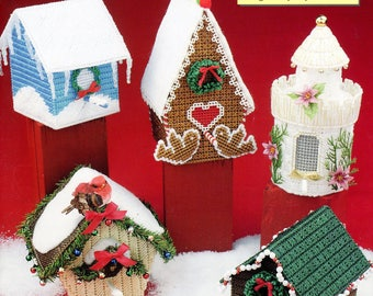 Christmas birdhouse | Etsy