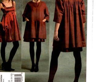 Sewing Pattern, Dress, Jacket, DKNY, V1074, Uncut, Sizes 14-22
