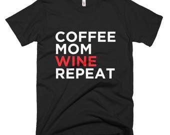 Coffee Mom Short-Sleeve T-Shirt