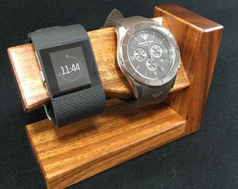 Handmade Solid Timber Watch / Bracelet Stand