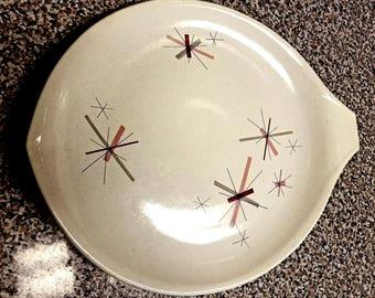 Salem China Hopscotch Pink Platter
