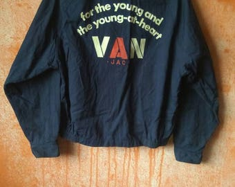 Vintage van jacket inc from japan