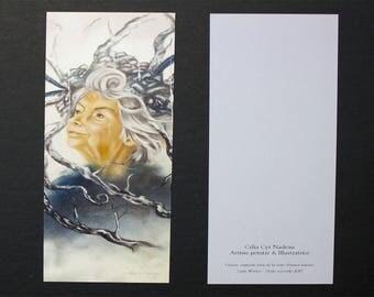 Lady Winter bookmark